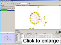 Cytoscape MiMI Plugin Screen Shot